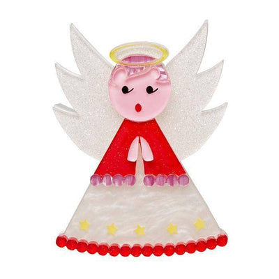 Erstwilder Nanna's Little Angel Brooch BH6617-8010