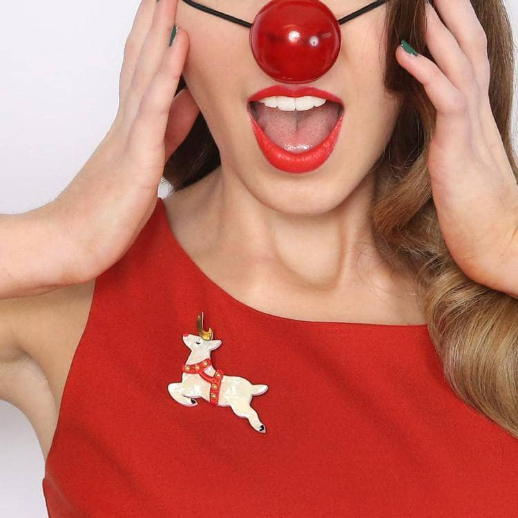 Erstwilder - Now, Prancer Brooch - 2