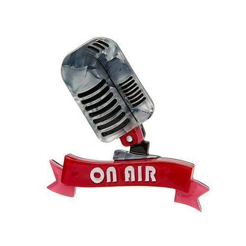 On Air Brooch