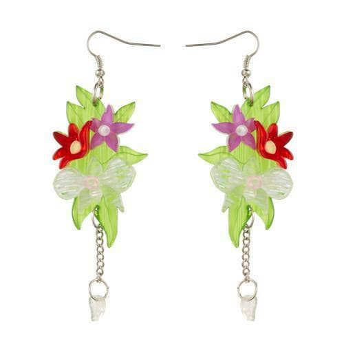 Erstwilder - Orchid Bouquet Earrings - 1