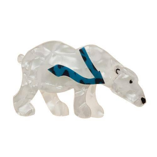 Erstwilder - Pav the Polar Bear Brooch - 1