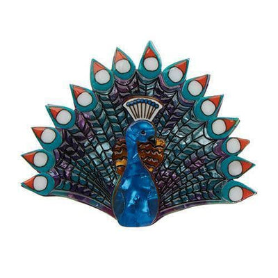 sale Penelope Peacock Brooch (IMPERFECT) IP-BH5468-3033