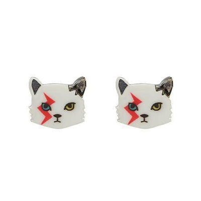 Erstwilder Rebel, Rebel Cat Earrings E6099-8010
