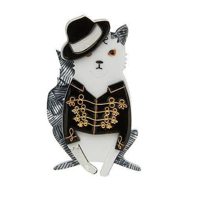 Rock With You Cat Brooch