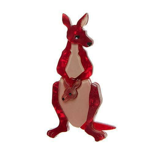 Erstwilder - Roo Ride Along Brooch - 1
