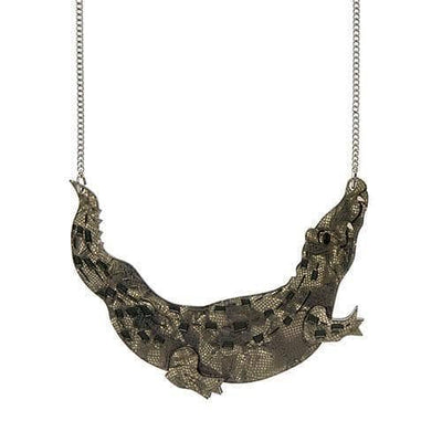 Saltie Swamp Dweller  Necklace