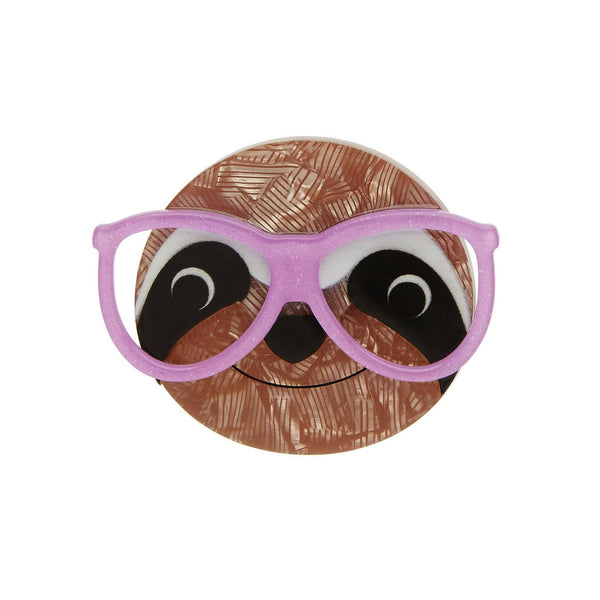 Erstwilder - Sammy the Smart Sloth Brooch - 1