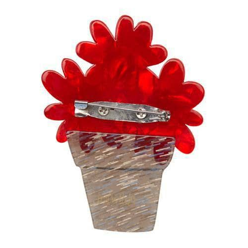 Erstwilder - Singing Flower Trio Brooch - 4