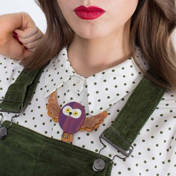 Spark the Owl Necklace