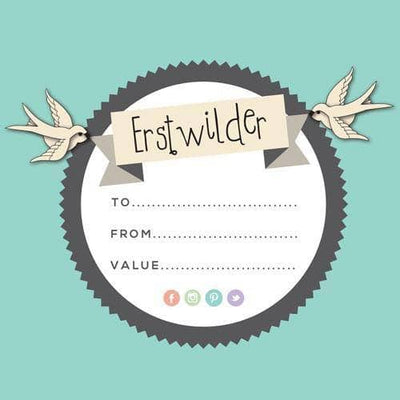 Erstwilder - Physical Gift Voucher