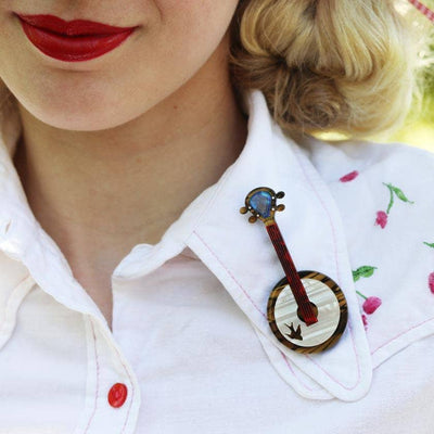 Stay Plucky Brooch