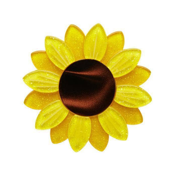 Sumptuous Sunflower Brooch