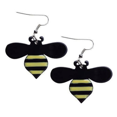 Erstwilder - Sweet Honey Bee Earrings - 1