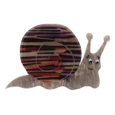 sale Sylvia Snail Brooch (IMPERFECT) IP-BH5474-0271