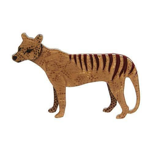 The Truant Thylacine Brooch
