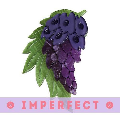 Erstwilder - Wistful Wisteria Brooch (IMPERFECT) - 1