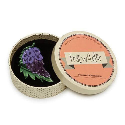 Erstwilder - Wistful Wisteria Brooch (IMPERFECT) - 3