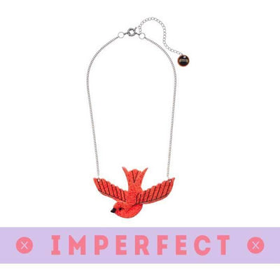 Flying with Fifi  Necklace (IMPERFECT)