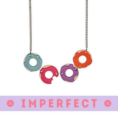 Sugar Bagel Bunch  Necklace (IMPERFECT)