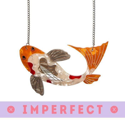 Playing Koi Necklace (IMPERFECT)