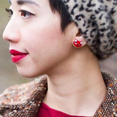 Erstwilder - Carla Cat Earrings (IMPERFECT) - 2