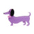 Erstwilder Spiffy the Sausage Dog Brooch BH4013-5000
