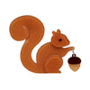 Erstwilder The Satisfied Squirrel Brooch BH4047-9000