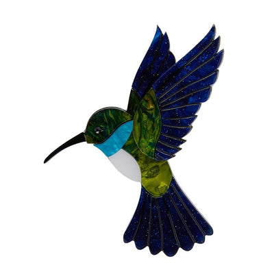 Erstwilder Hyacinth the Hummingbird Brooch BH5282-4030