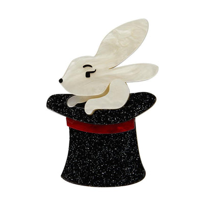 Erstwilder Trixie Bunny Honey Brooch BH5649-7080