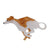 Erstwilder Weightless Whippet Brooch BH5924-8092
