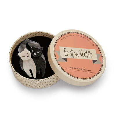 Erstwilder The Lovecats Brooch BH6007-8070