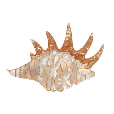 Mobile Home Shell Brooch