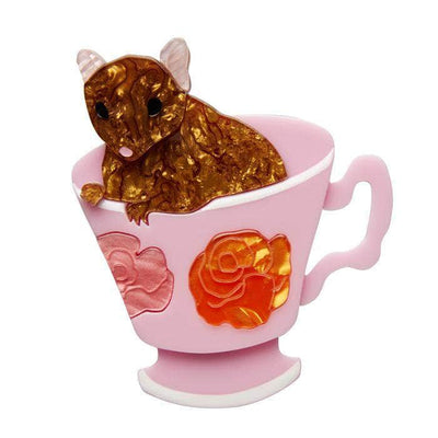 Erstwilder An-Tea-Chinus Mouse Brooch BH6669-2090
