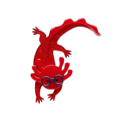 Alex The Axolotl Brooch