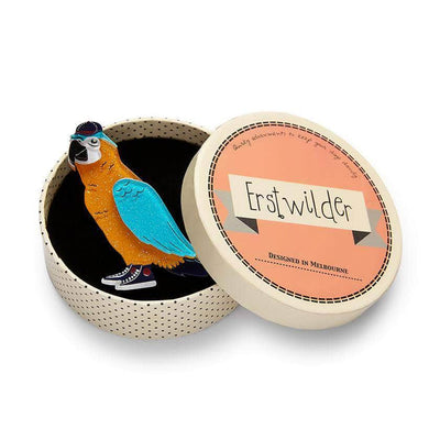 Erstwilder Corey the Macaw Brooch BH6673-6030