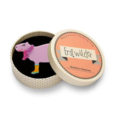 Erstwilder Sara the Capybara Brooch BH6677-5060