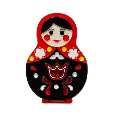 Matryoshka Memories Toy Brooch