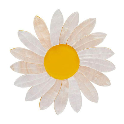 She Loves Me Daisy Brooch