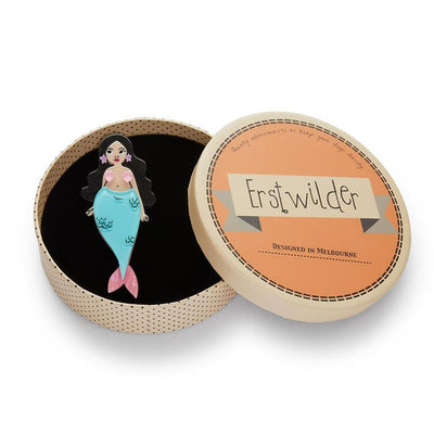 Just Add Water Mermaid Brooch