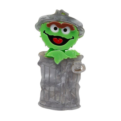 Erstwilder Oscar the Grouch Brooch BH6872-7340