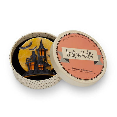On Haunted Hill Brooch