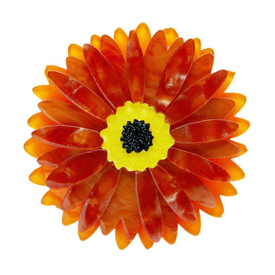 Sunshine of Life Gerbera Brooch