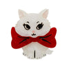 Wrapped Up in Love Kitten Brooch