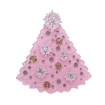 The Night Before Pink-Mas Brooch
