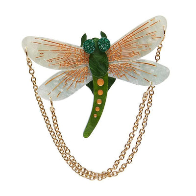 As The Dragon Flies Brooch