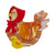 Erstwilder Proud Mother Hen Brooch BH7001-9262
