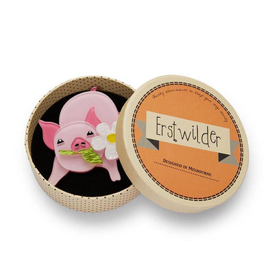 Wilbur the Wonder Pig Brooch