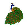 Erstwilder Le Peacock Royal Brooch BH7031-4030