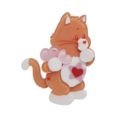 Erstwilder Proud Heart Cat™ Brooch BH7076-9200