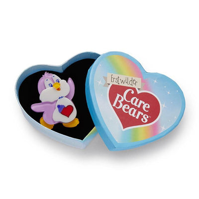 Cozy Heart Penguin™ Brooch